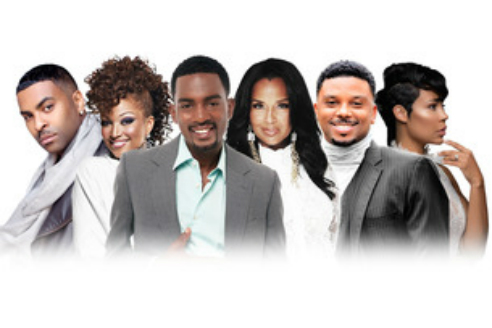 THE CAST OF 'MARRIED BUT SINGLE TOO'
